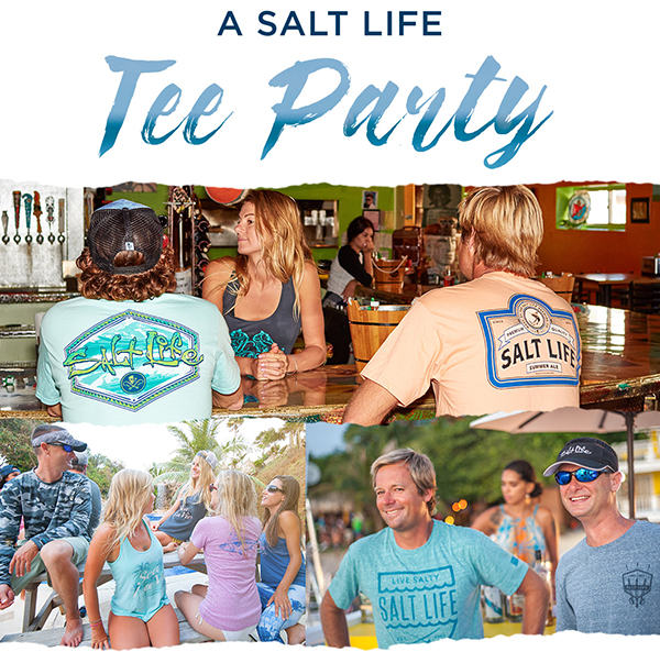 It's tee time! Check out new beachy tees for men, ladies and kids.
