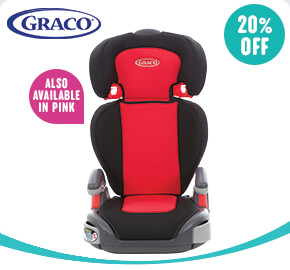 Graco Junior Maxi Group 2-3 Car Seat Red/Black