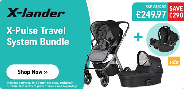 X-lander X-Pulse Travel System Bundle