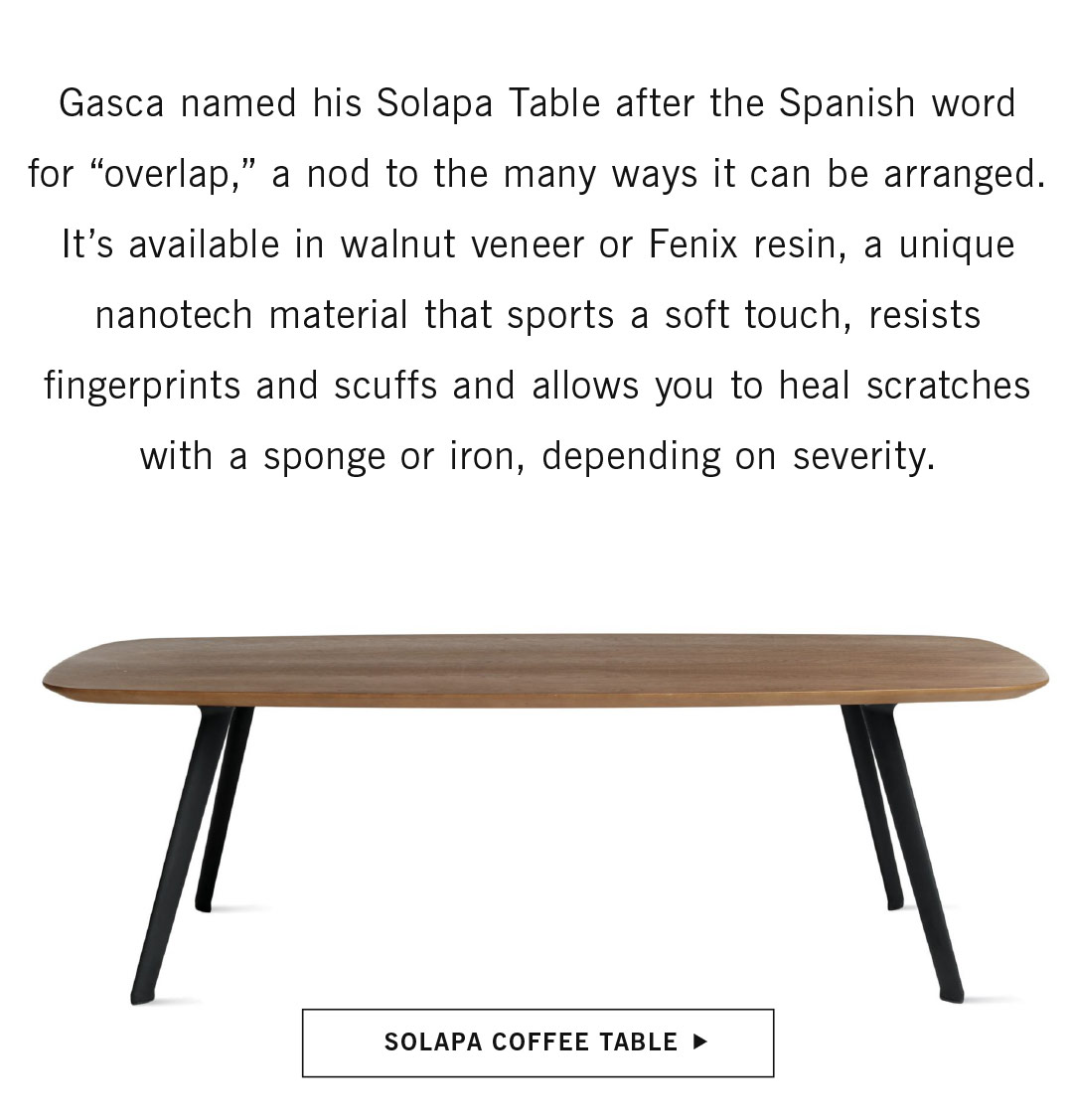 Solapa Coffe Table
