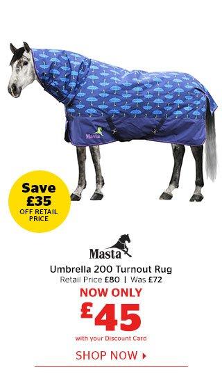 Masta Umbrella 200