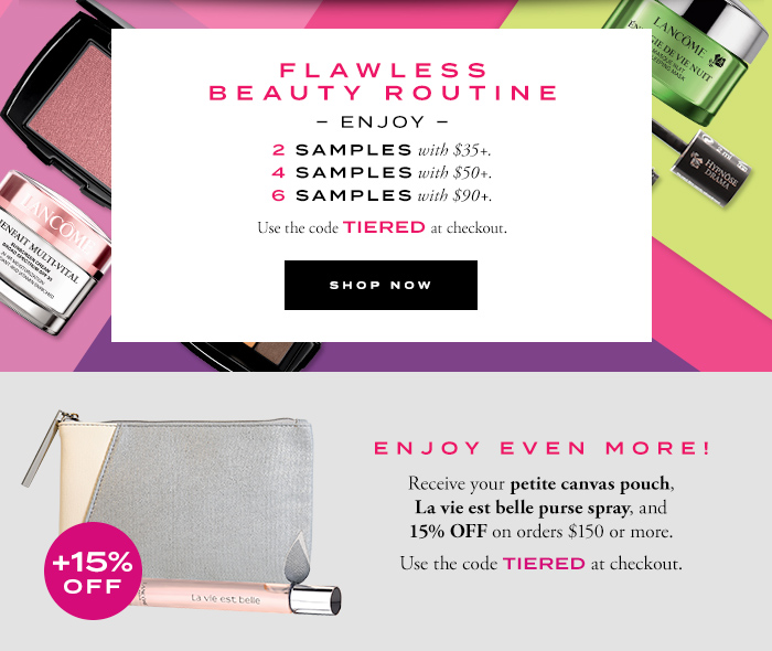 FLAWLESS BEAUTY ROUTINE - SHOP NOW