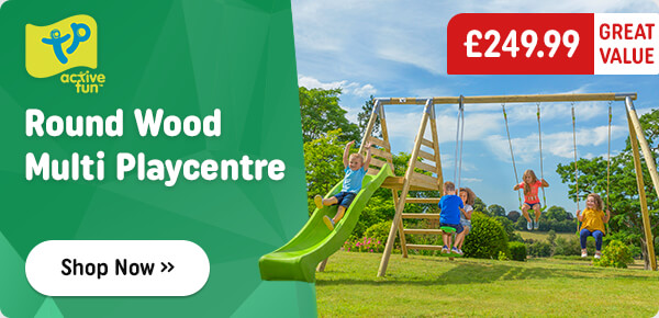 TP Round Wood Multi Playcentre