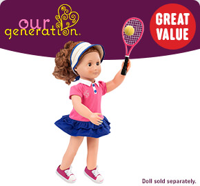 Our Generation Aced It! Tennis Outfit