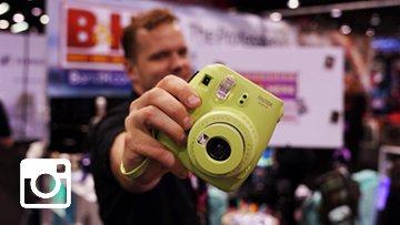 Instax selfies at #VidConUS