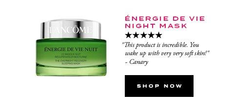 ÉNERGIE DE VIE NIGHT MASK - SHOP NOW