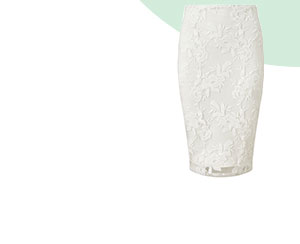 LIPSY EMBROIDERED CO-ORD PENCIL SKIRT