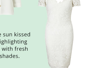 LIPSY ALL OVER LACE COLD SHOULDER DRESS