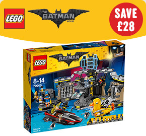 LEGO 70909 The Batman Movie Batcave Break-In