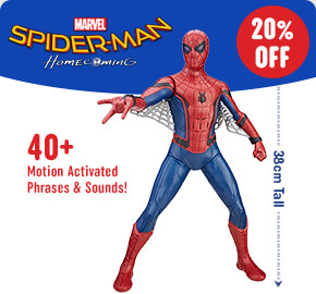 Spider-Man: Homecoming Tech Suit Spider-Man Figure 38 cm