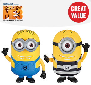 Despicable Me 3 Talking Action Figures