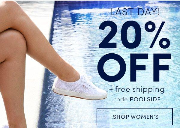 20% OFF! Shop Women's