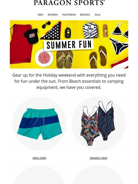 7f1803e21 Paragon Sports  Feature Friday  Summer Fun Essentials!