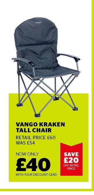Vango Kraken Tall Chair