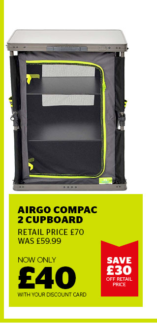 AIRGO COMPAC 2 CUPBOARD