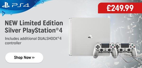 PlayStation 4 500GB Silver Console