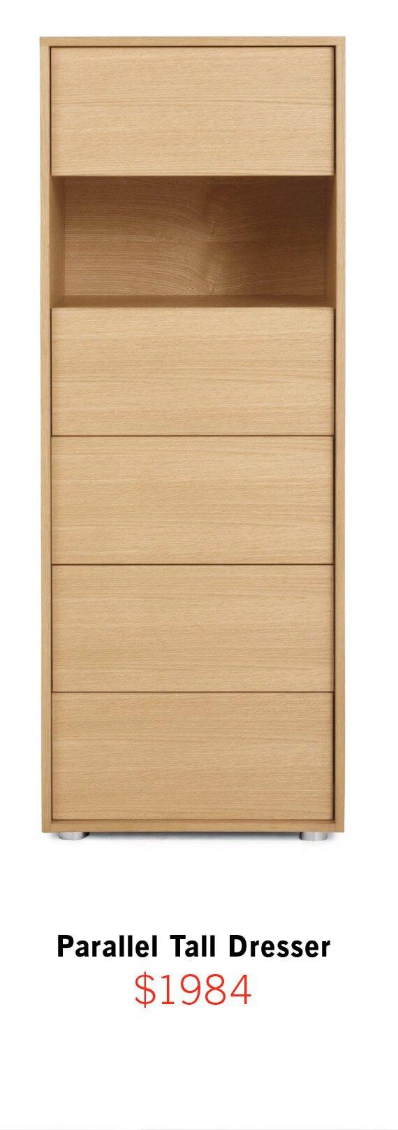 Parallel Tall Dresser