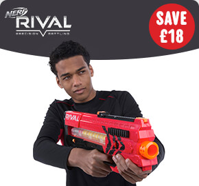 NERF Rival Zeus MXV-1200 Blaster Red