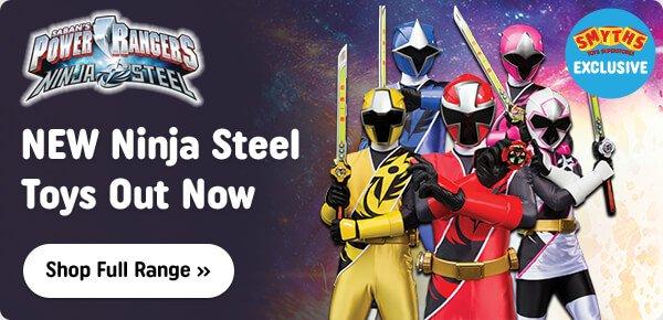 Power Rangers Ninja Steel Out Now