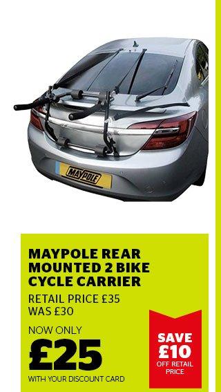Maypole Rear Mounted Bike Carrier