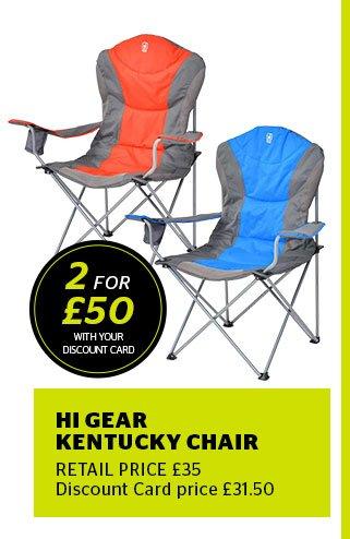 Hi Gear Kentucky Chair