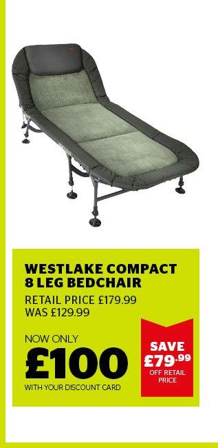 Westlake Compact 8 Leg Bedchair