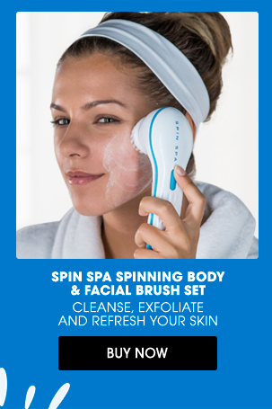 SPIN SPA SPINNING BODY & FACIAL BRUSH SET | BUY NOW