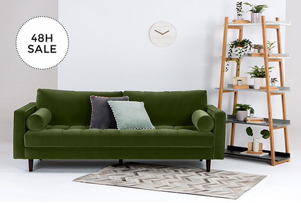 Made Com Our Famous Scott Sofa On Sale Now Milled