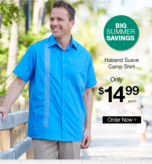 Haband Suave Camp Shirt