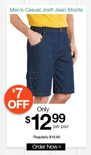 Casual Joe Jean Shorts