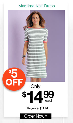 Maritime Knit Dress