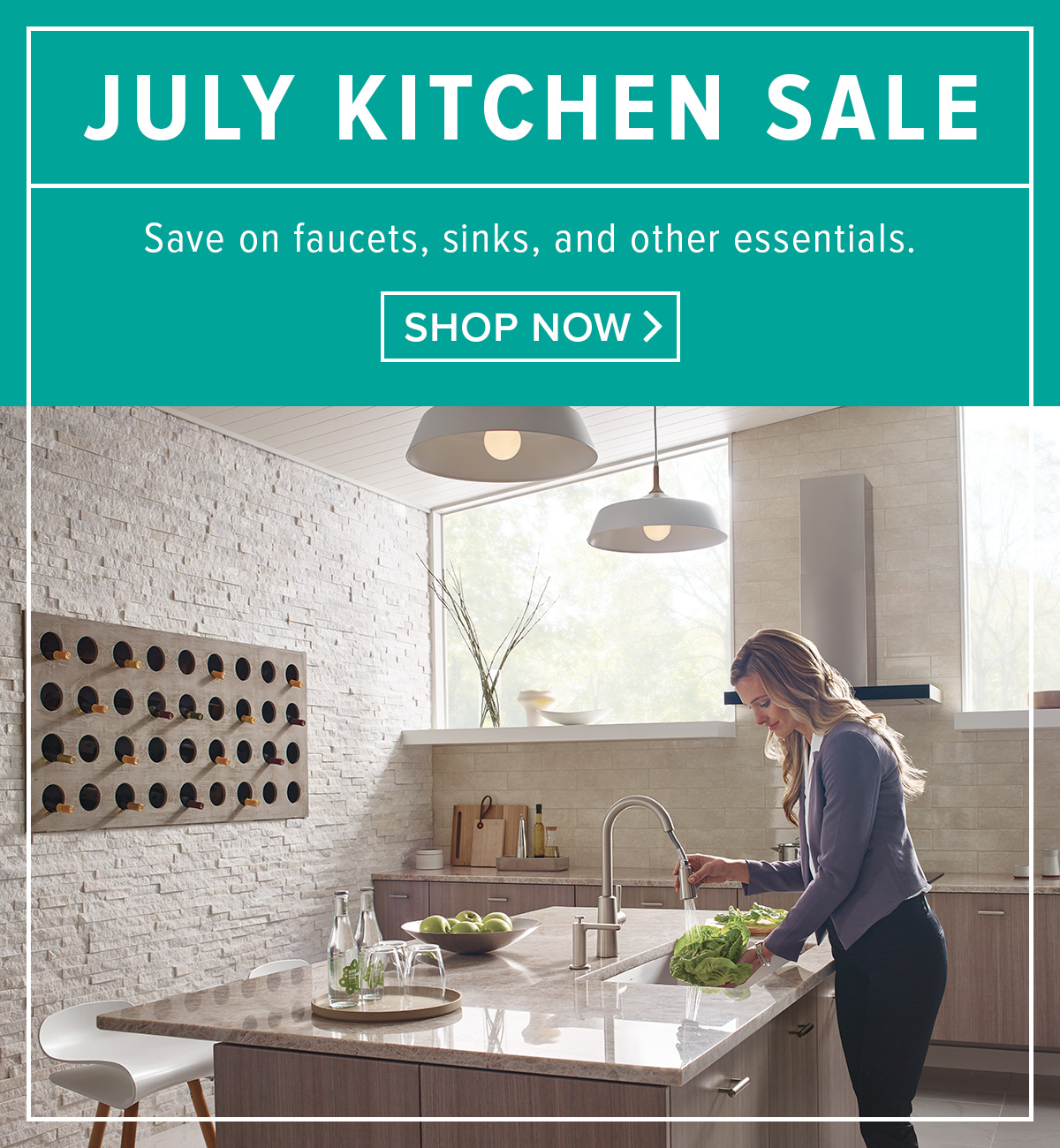 Build.com: Find the perfect pair. Kitchen faucets & sinks sale. | Milled