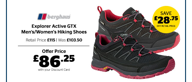 Berghaus Explorer Active GTX Men's/Women's