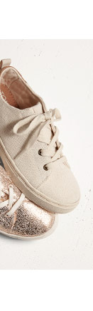 Birch Burlap Youth Lenny Sneakers