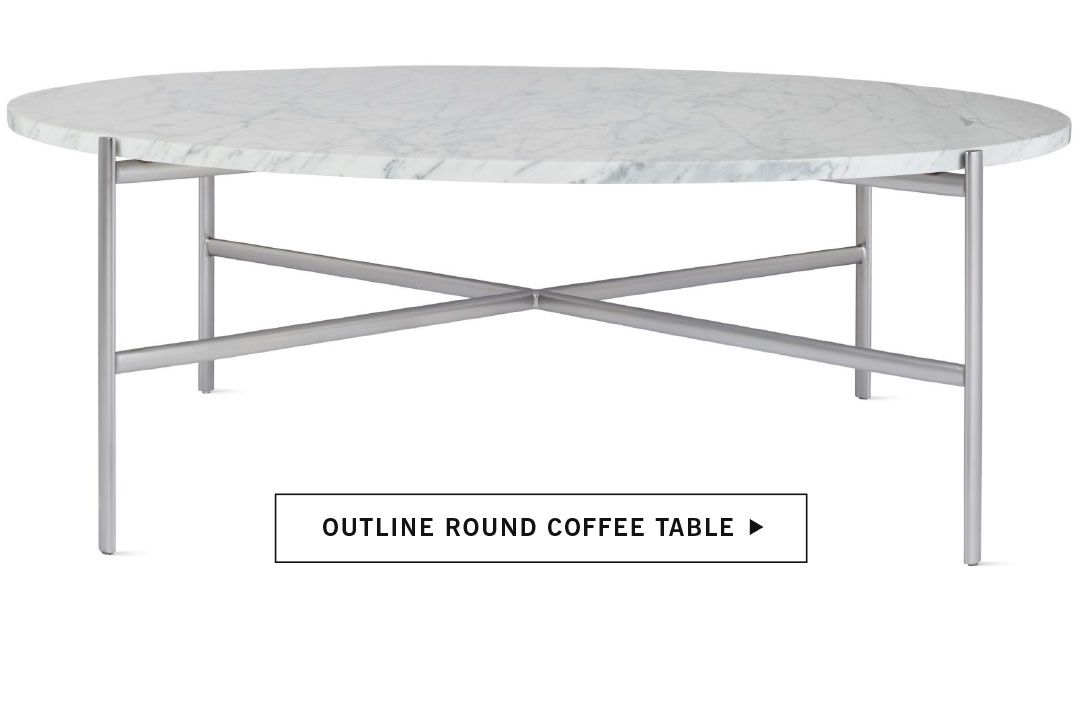 Outline Round Coffee Table