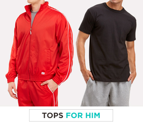 Tops for him