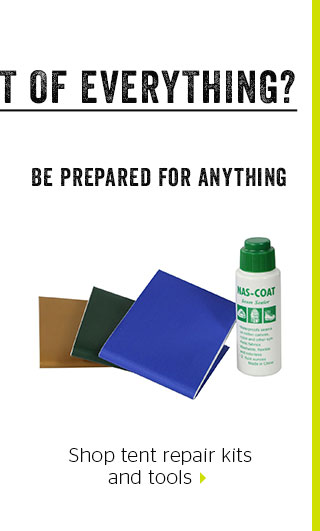 Shop tent repair kits