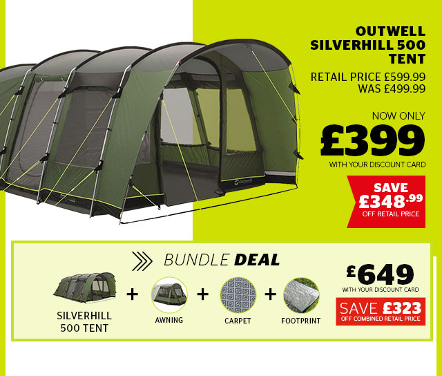 Outwell Silverhill 500