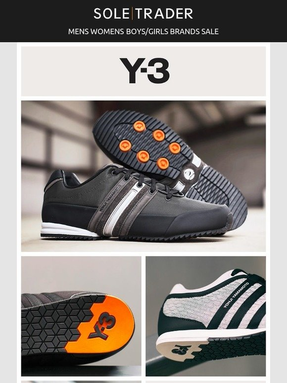 e9744e4c112f Soletrader Outlet  The futuristic feels with Y3