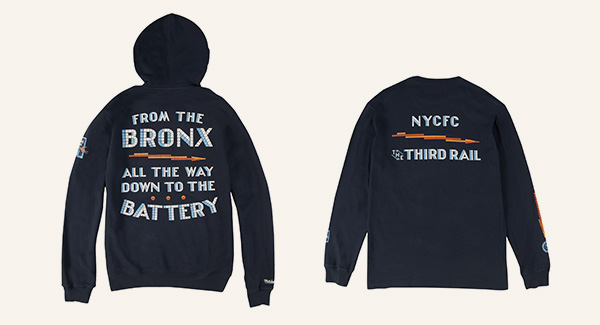 NYCFC x The Third Rail Collection is Now Available
