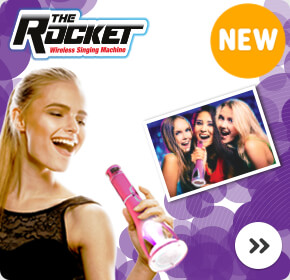 The Rocket Wireless Singing Machine