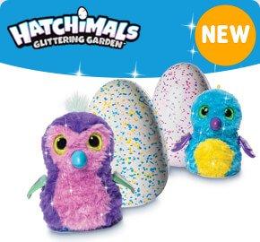 Hatchimals Glittering Garden Shimmering Draggles /Pengualas