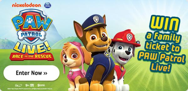 Paw Patrol Tour Competition