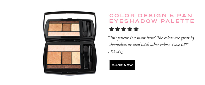COLOR DESIGN 5 PAN EYESHADOW PALETTE - SHOP NOW