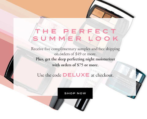 THE PERFECT SUMMER LOOK - SHOP NOW