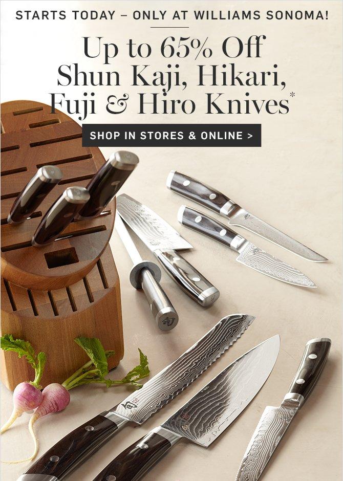 up to 65 off shun kaji hikari fuji u0026 hiro knives - Shun Cutlery
