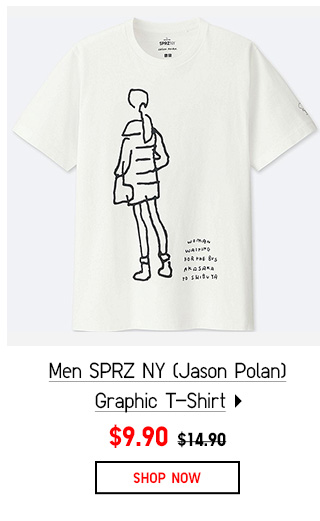 Shop SPRZ NY (Jason Polan) Graphic T-Shirt Collection