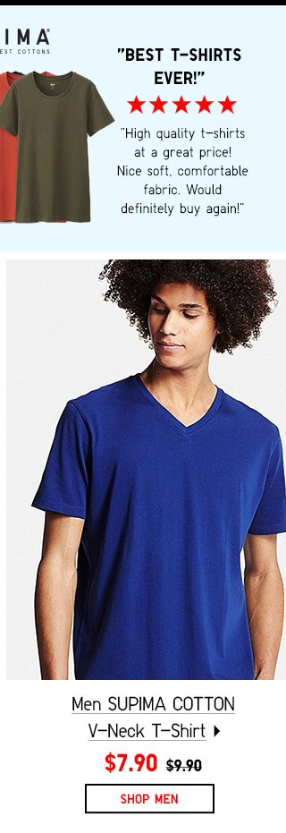 Shop Men's SUPIMA Cotton Tees