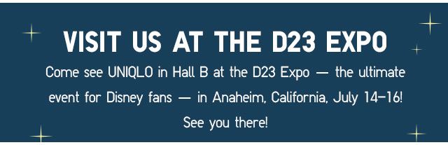 Visit us at the D23 Expo