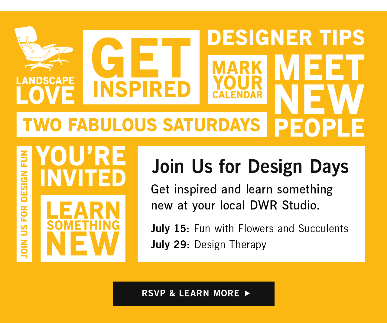 Join Us for Design Days